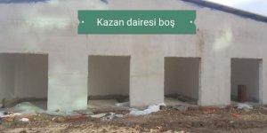 Hastane inşaatında yolsuzluk!