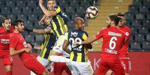Fenerbahçe, Kupa'ya veda etti!