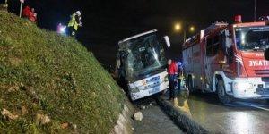 İstanbul'da otobüs devrildi: 2 ölü, 21 yaralı