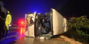 Adana'da feci kaza! 3 ölü, 13 yaralı