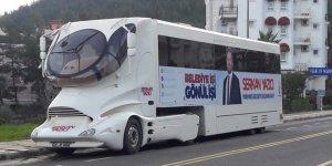 AKP'li adaydan ultra lüks seçim aracı