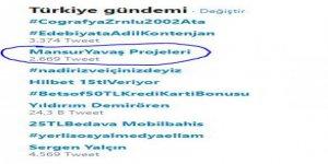 """""""Mansur Yavaş Projeleri"""" sosyal medyada gündem oldu!"""