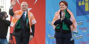 Akşener ve Kılıçdaroğlu ilk kez ortak miting yaptı