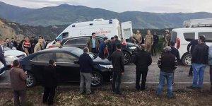Tokat'da, taziyeden dönenleri taşıyan otobüs devrildi: 7 ölü, 30 yaralı