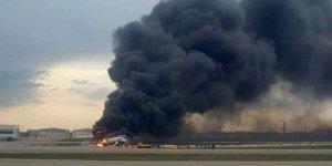 Rusya'da yolcu uçağı alev aldı: 41 ölü