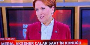 Meral Akşener: Erdoğan kaybedeceğine hiç inanmamış ki bir B planı yokmuş