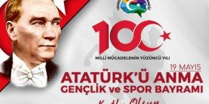 """Konuşkan; """"19 Mayıs 1919 Türk milletinin kendisine geçirilmek istenen tasmaya isyan edişinin adımıdır"""""""