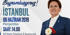 İYİ Parti'de İstanbul Bayramlaşması, bayramın 3'üncü günü