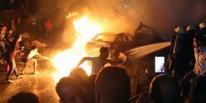 Mısır'da 4 araç yandı! 19 ölü, 30 yaralı