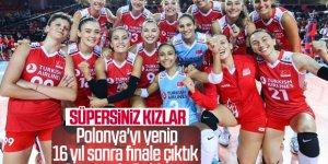 Filenin Sultanları Polonya'yı 3-1'le geçerek finale yükseldi
