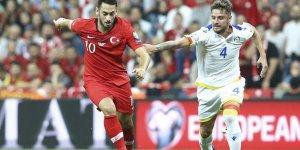 Türkiye, Andorra'yı 1-0'la geçmesini bildi
