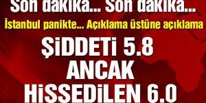 İstanbul depremlerle sallanıyor!