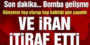 Ve İran, Ukrayna uçağını düşürdüğünü itiraf etti!