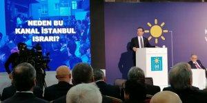 """Ekrem İmamoğlu: Kanal İstanbul, bir """"BUKALEMUN"""" projedir!"""