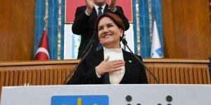 İYİ Parti Genel Başkanı Meral Akşener grup toplantısında