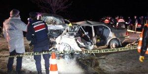 Konya'da feci kaza: 4 Ölü, 4 yaralı