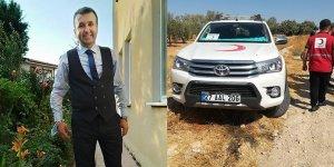 Suriye'de Kızılay ekibine saldırı! Şehidimiz var
