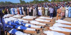 110 çiftçiyi katlettiler. Onlarca insanın kafasını kestiler