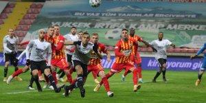 Hes Kablo Kayserispor: 0 - Beşiktaş: 2