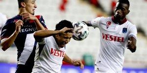 FTA Antalyaspor: 1 - Trabzonspor: 1
