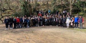 İYİ Gençlik'ten Orman Haftası yürüyüşü