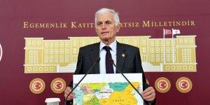 """Kabukçuoğlu: """"Doğu Türkistan'da esas amaç, bölgeyi müslüman Uygur Türklerinden arındırmak, onları yok etmektir."""""""