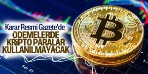 Ödemelerde 'kripto para' kullanılmayacak