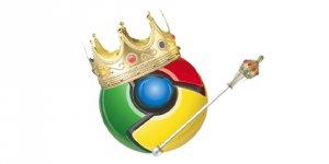 Chrome, Internet Explorer'ı Geride Bıraktı