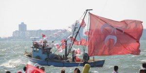 MHP İzmir Bayrak Mitingi Fotografları