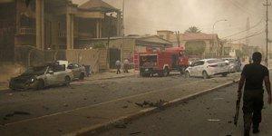Irak kentinde çatışma