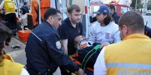 Kütahyada Polis aracı kaza yaptı: 4 yaralı