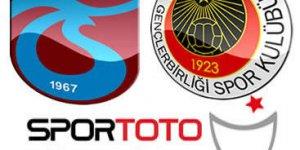Trabzonspor - Gençlerbirliği Maçı Canlı İzle