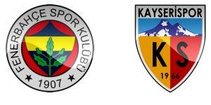 Fenerbahçe - Kayserispor Maçını İnternetten Canlı İzle