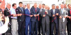 Çevre ve Şehircilik Bakanı Erdoğan Bayraktar, bir dizi açılış ve ziyaret için Çankırıya geldi