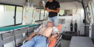 Tuzhurmatuda meydana gelen patlamada 5i ağır 17 kişi yaralandı.