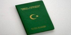 Kamu çalışanları dışındakilere yeşil pasaport yok