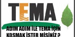 ADIM ADIM ile TEMA için koşmak ister misiniz?