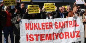 Mersinde nükleer karşıtı eylem
