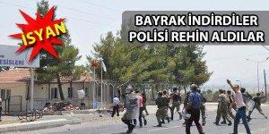 Mülteci kampında isyan