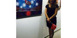 Ressam Ayşen Canın sergi heyecanı dorukta...