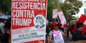 Trumpın Görevi Devralmasından Sonra Başlayan Protestolar Büyüyor!