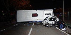 Bursada zincirleme kaza: 4 ölü 11 yaralı