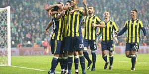 Bursaspor: 0 - Fenerbahçe: 1