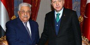 Filistin Devlet Başkanı Türkiyede