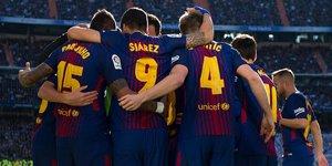 Real Madrid: 0 - Barcelona: 3