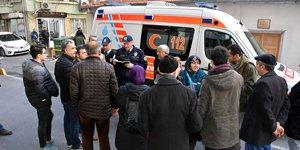 Fatih'te yangın: 1 kadın öldü